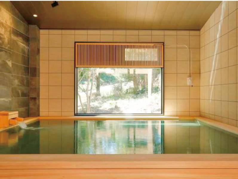 潮騒の湯(男湯)~療養泉として基準を満たす天然温泉~