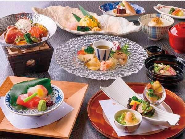 海コース料理/例