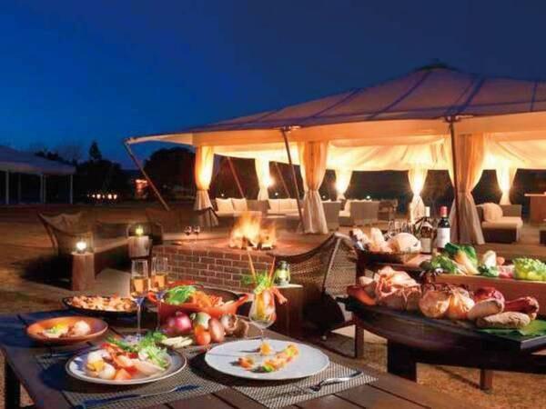 【ご夕食】グランピングディナー※写真はイメージとなります