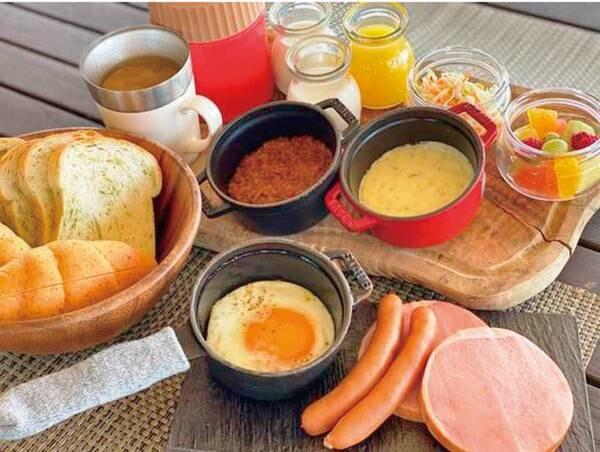 グランピング朝食/例
