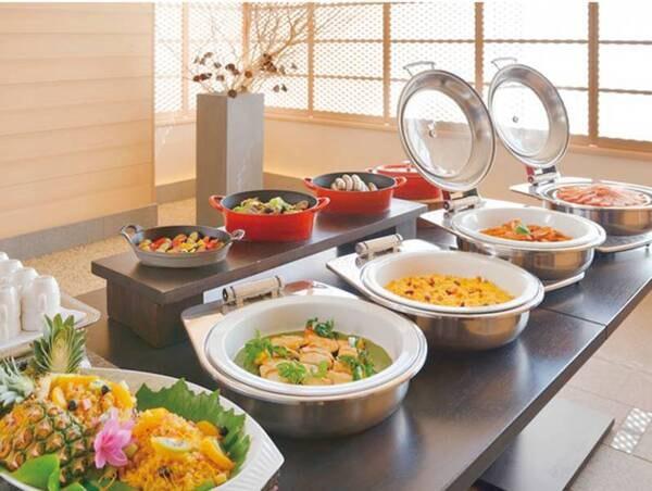 【ご朝食】和洋ブッフェ/例
