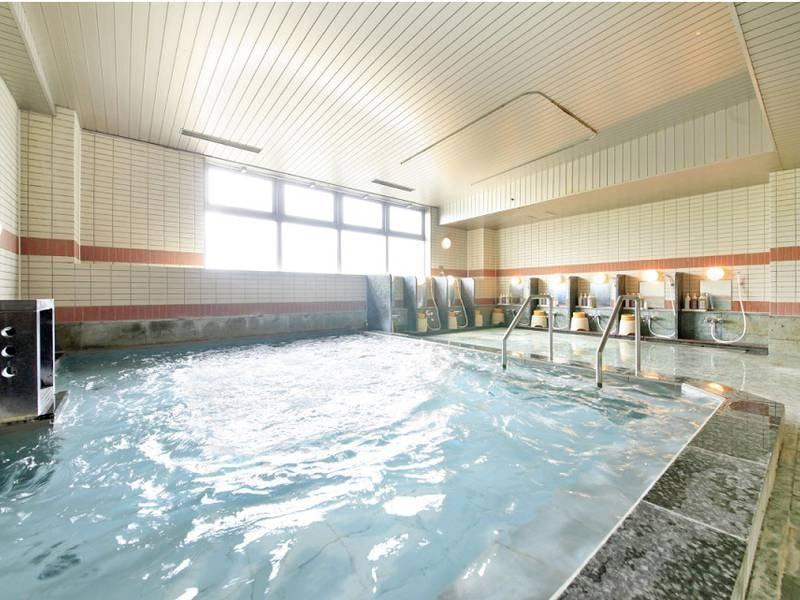【大浴場】天然鉱石イオンの湯でゆっくり癒される