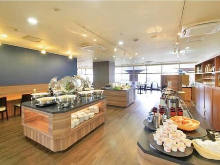 【一泊朝食プラン/例】ブッフェ形式の和食・洋食の朝食