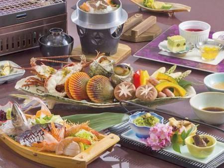 網焼き料理(基本会席)/写真例