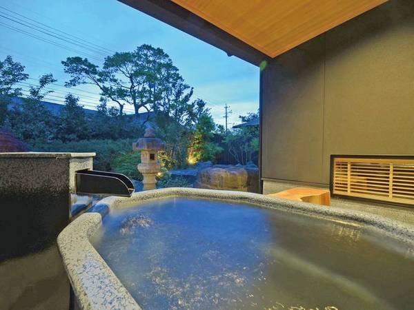 客室露天風呂「とち」