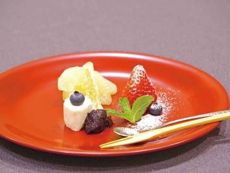 【料理一例】四季折々の味わい 鮑ステーキプラン