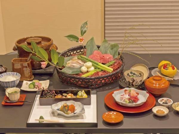 四季折々の味わい 松阪牛プラン※料理一例