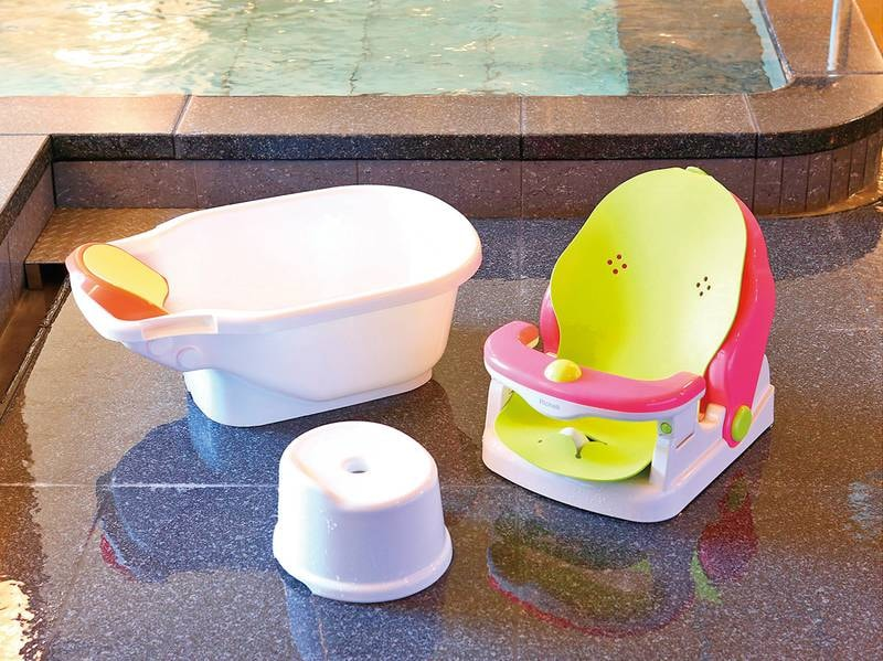 大浴場:ベビーバス