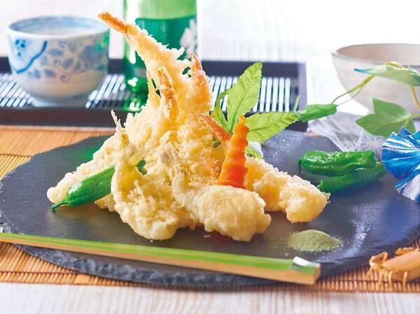夏の料理フェア【海老、キス、季節の野菜天ぷら/例】6/1~7/21