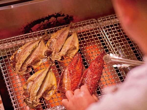9/1~11/30【秋の料理フェア】地元定置網で獲れた地魚の一夜干し/例