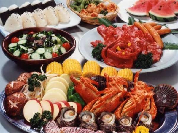 海鮮&お肉のバーベキュー/一例