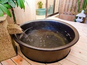 貸し切り専用露天風呂『海女美の湯』