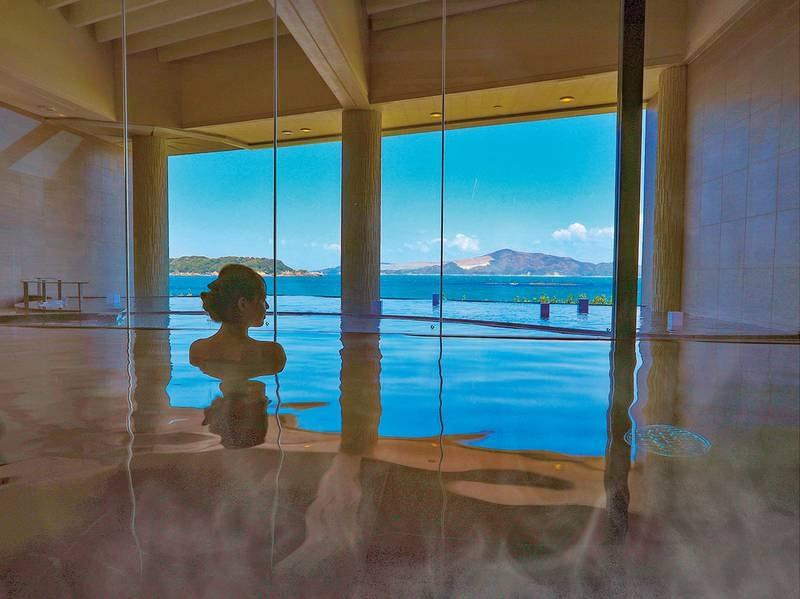 インフィニティ温泉SUNRISE:大浴場