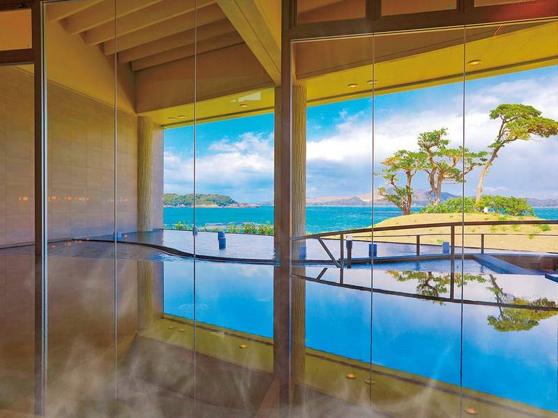 インフィニティ温泉SUNSET:大浴場