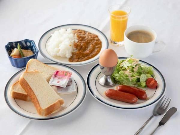 朝食セミセルフ形式/一例