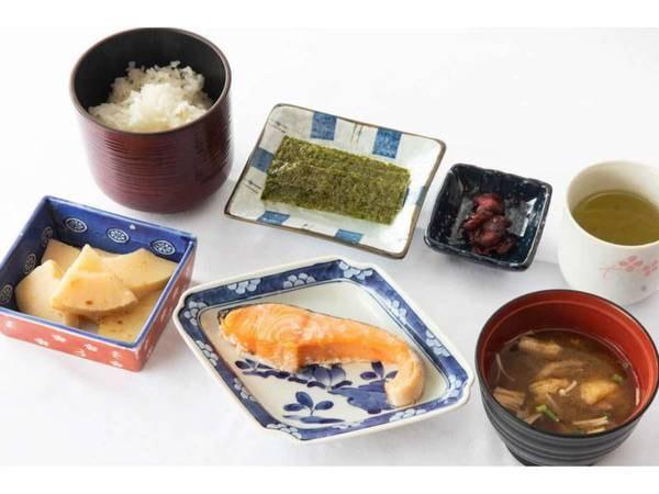 【シンプルスティ】朝食付きプラン焼き魚セット/一例