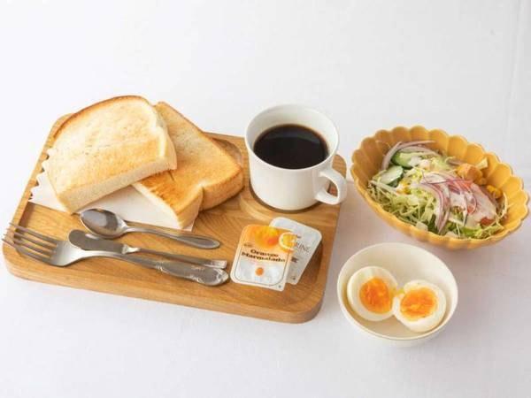 【シンプルスティ】朝食付きプランミニ洋食セット/一例