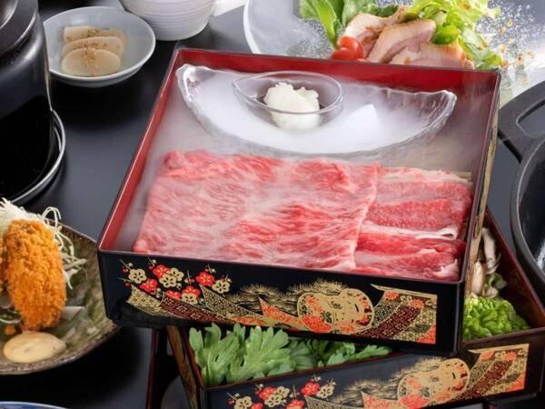 夢物語「松阪牛すき焼きコース」/一例
