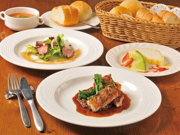 【選べるメインフレンチ】予約時に魚又は肉をグループごとで選択