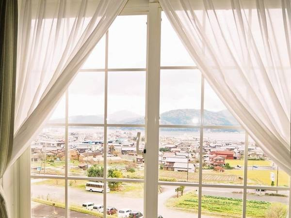 海側ツインからの眺望/例