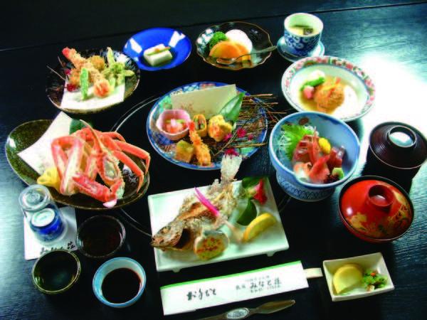 【浜幸プラン/例】刺身・焼き物・揚げ物などをご用意
