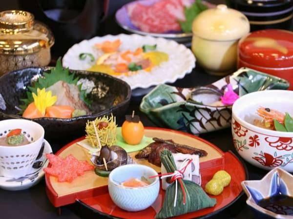 【夕食/例】旬の食材を使用した絶品会席をお部屋にご用意