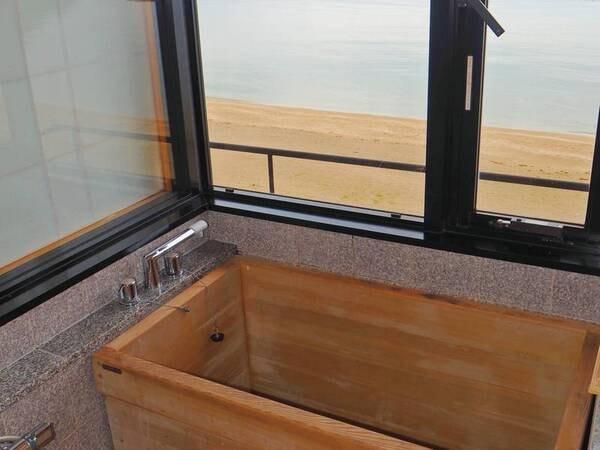 檜風呂付客室例