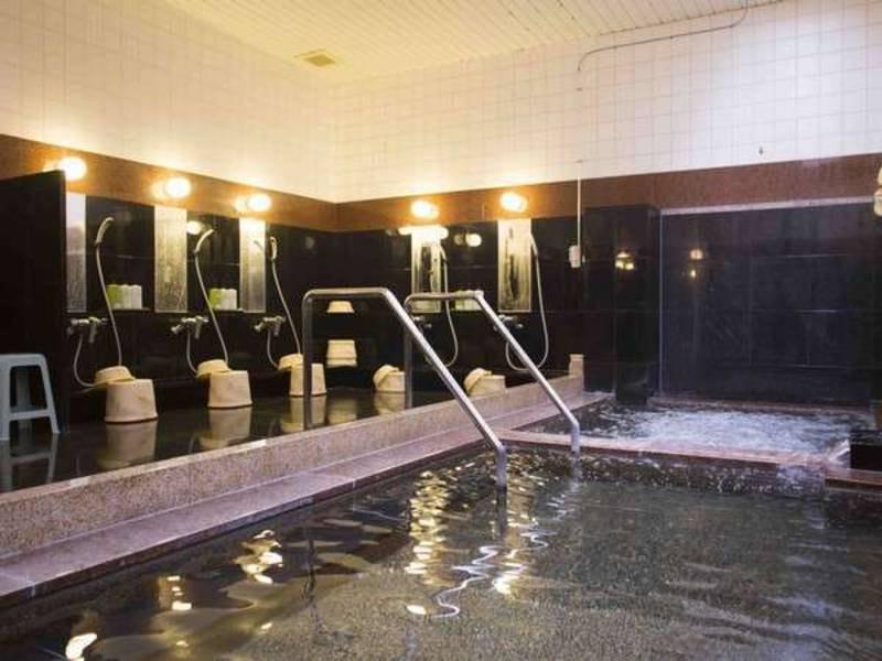 【大浴場】ジャグジー付きの温泉大浴場