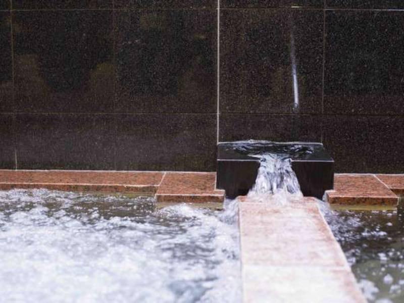 【大浴場】天然ラジウム温泉の大浴場