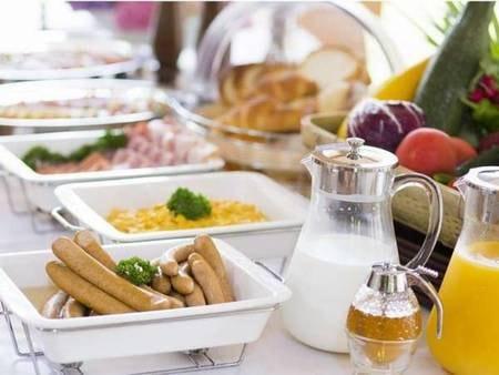 【朝食/例】朝食ビュッフェの一例