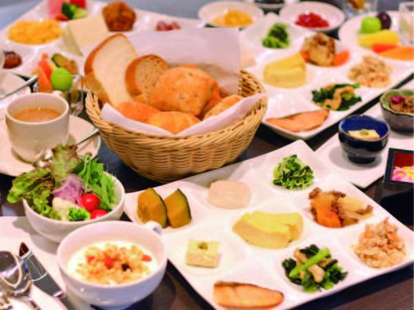 【朝食/例】約65種の和洋バイキング