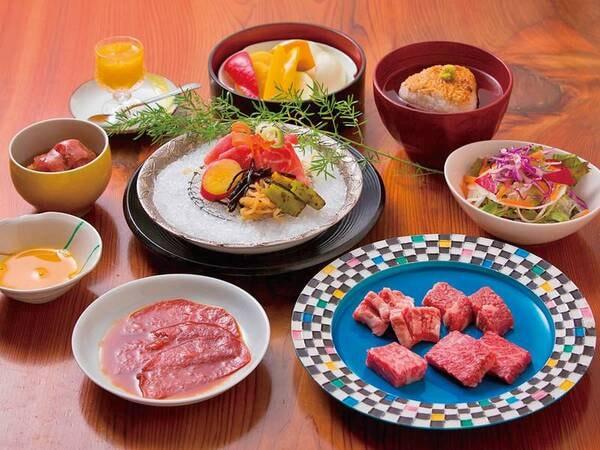 【夕食/例】完熟近江牛や旬食材を味わう会席