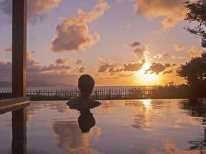海と空のインフィニティ露天風呂