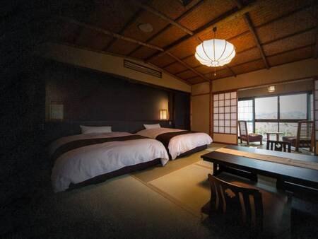 【オーシャンフロント】温泉露天付和室/一例