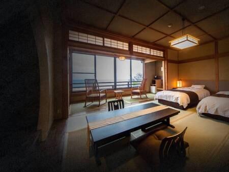 【リバービュー】和室セミダブル/一例