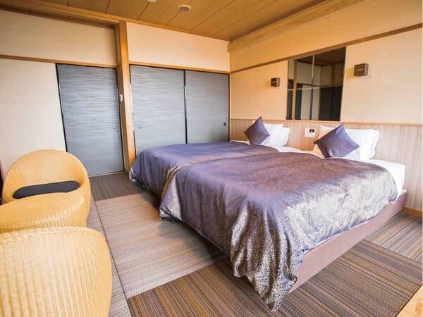 【客室露天風呂/例】温泉を満喫できる露天風呂付き客室(禁煙)