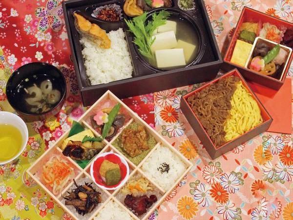 【朝食/例】京都の老舗とコラボした、日替わりの和食軽弁当をお部屋にお届け