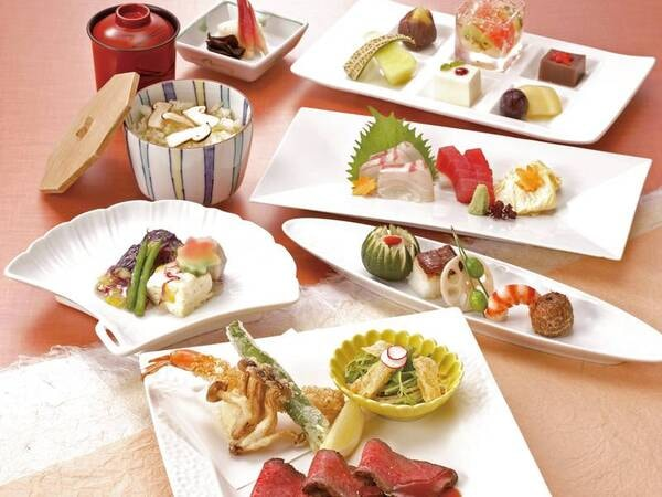 京懐石美濃吉コラボ/夕食一例