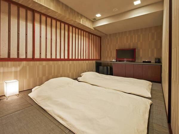 【客室/例】ゆっくり寛げる琉球風畳の23㎡和室