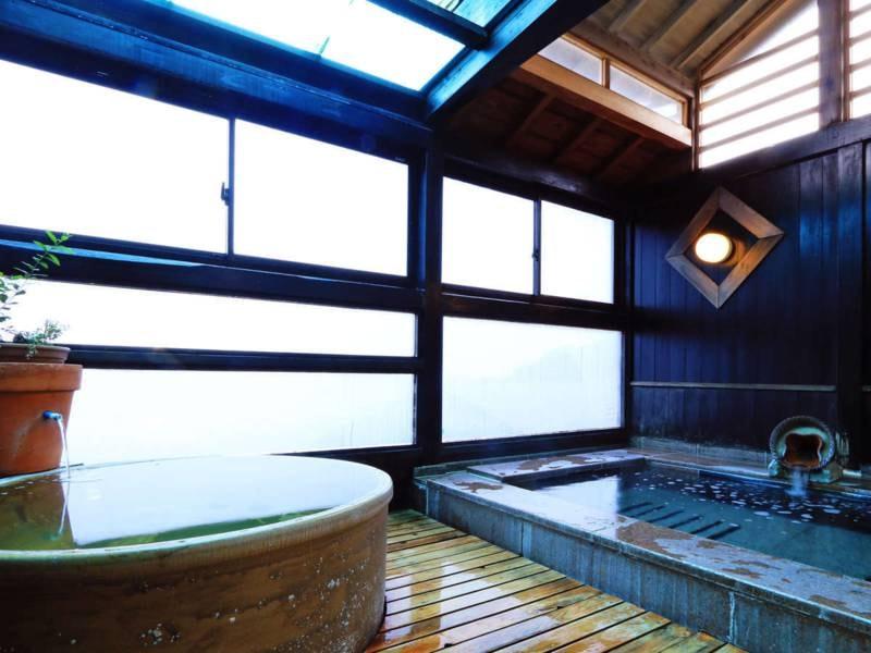大浴場/お湯はお肌にやさしいアルカリ性単純温泉の夕日ヶ浦温泉。