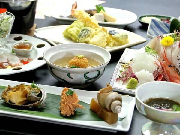 【料理一例】リーズナブル会席♪手軽に丹後の海幸を楽しめます!!