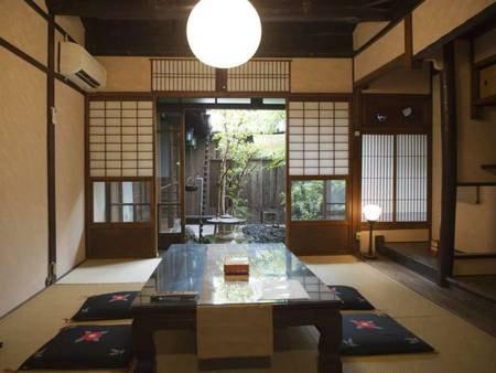 築80年以上の京町家を贅沢に貸切/一例