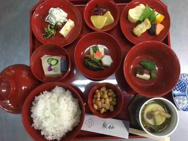 朝食付き【和食/一例】