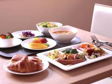 ごちそう野菜の朝ごはん/一例