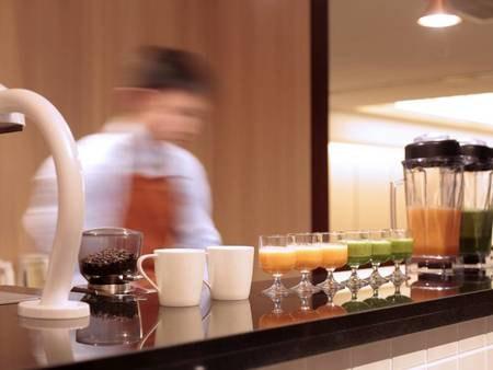 ごちそう野菜の朝ごはん/ドリンクカウンター/一例