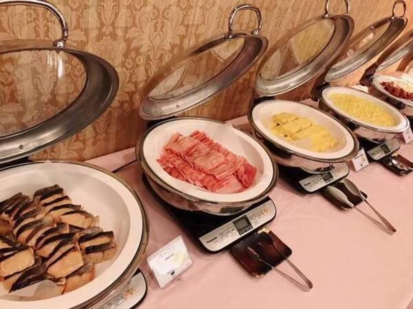 朝食バイキング/一例(※状況により提供方法などの変更をさせていただく場合がございます)