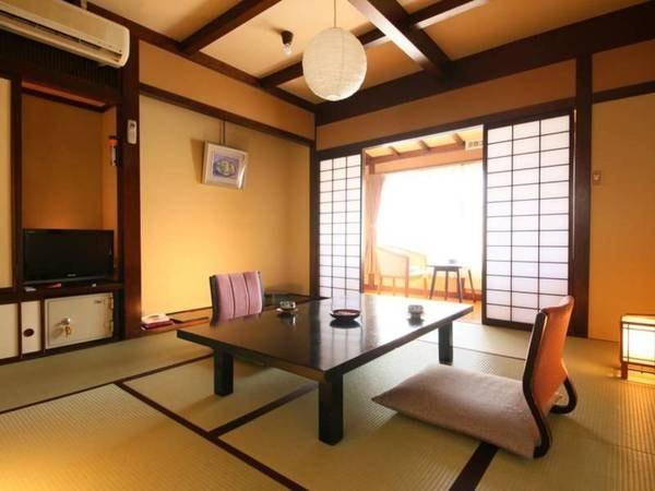 【和室8畳一例】リーズナブル&スタンダードタイプの客室です。
