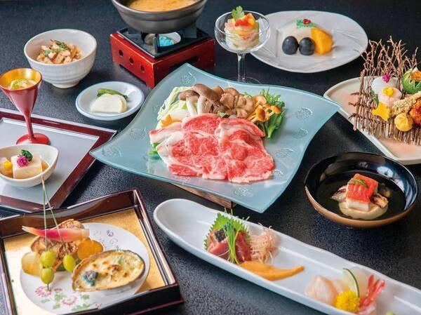 信州牛料理付!郷土料理を現代風にアレンジした料理長自慢の懐石料/例
