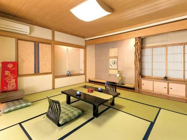 【本館10畳】趣のある客室で素敵なひとときを作る空間/例
