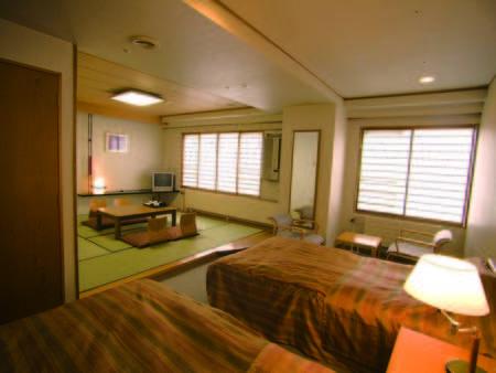 【客室/例】ゆこゆこで人気の和洋室!和室+ツイン